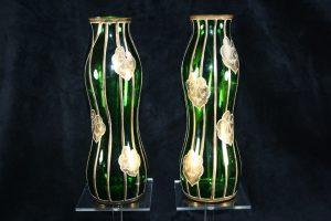 C10001 – Pair of magnificent Jugendstil vases of the Gräflich...