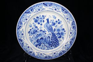G01020 – Royal Delft blue and white beautiful large wall...