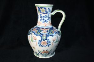C16001 –  Large colourful jug / can by Royal...
