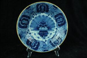 99999 – De Klaauw antique peacock plate