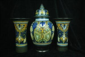 99999 – Plateelbakkerij Zuid-Holland rare garniture décor Cyprus